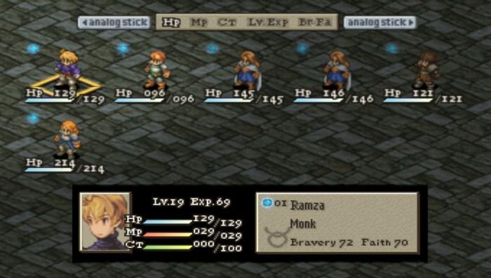Sabia que Final Fantasy Tactics quase teve uma sequência? Confira aí algumas imagens!