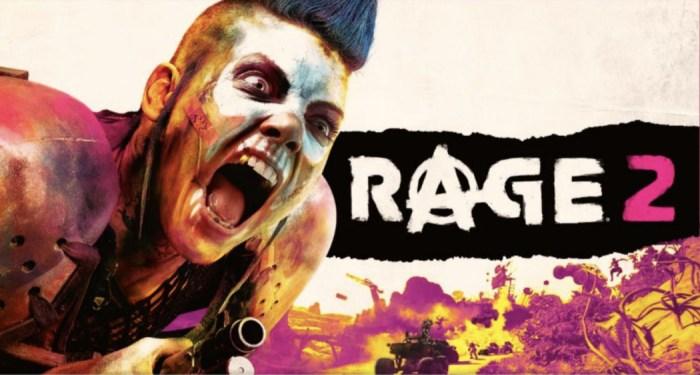 Rage 2: tiroteio colorido e frenético no primeiro trailer de gameplay!