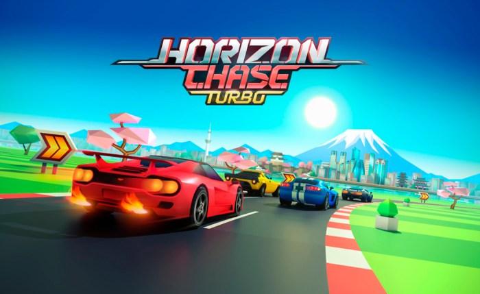 Horizon Chase Turbo já está disponível para Playstation 4 e PC!