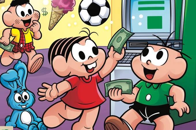 Turma da Mônica lança série de gibis que trata de educação financeira para crianças