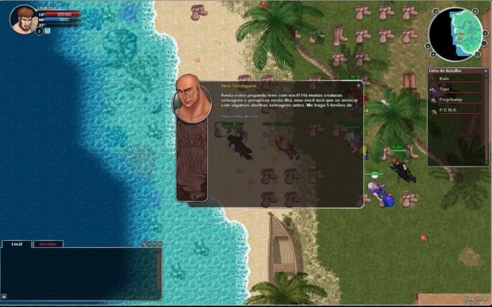 Preview Arkade - Bloodstone: The Ancient Curse, um MMORPG brasileiro!