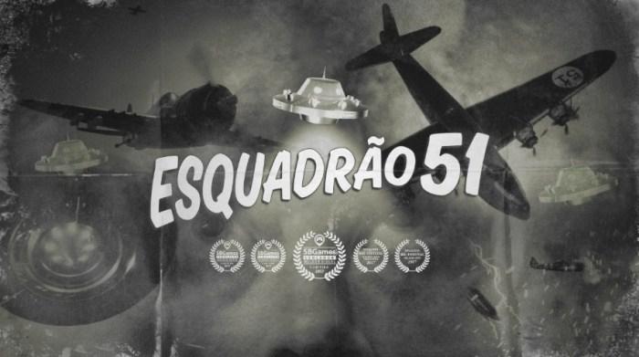 Esquadrão 51, jogo brasileiro de navinha cheio de estilo, deve sair no começo de 2019