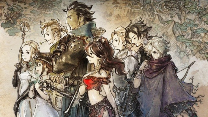Lançamentos da semana: Octopath Traveler, The Walking Dead para smartphones e mais