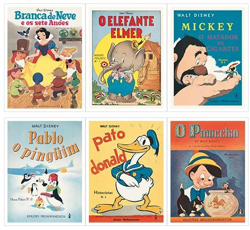 Bienal do Livro 2018: Disney e Melhoramentos lançam caixa com suas primeiras publicações no Brasil