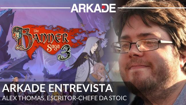 Arkade Entrevista: Alex Thomas, o escritor chefe de The Banner Saga 3 da Stoic