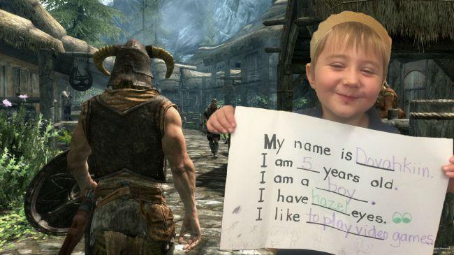 Seis anos depois, veja como está Dovahkiin, criança que recebeu este nome por causa de Skyrim