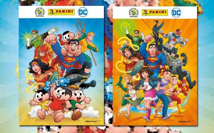 Parceria entre Turma da Mônica e DC promoverá o encontro da turminha com a Liga da Justiça