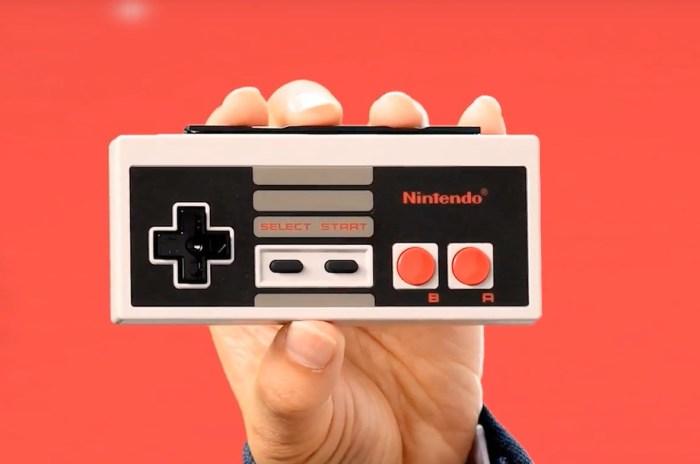 Nintendo anunciou controles de NES feitos para o Switch