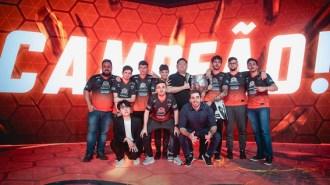 KaBuM campeã do CBLoL 2018