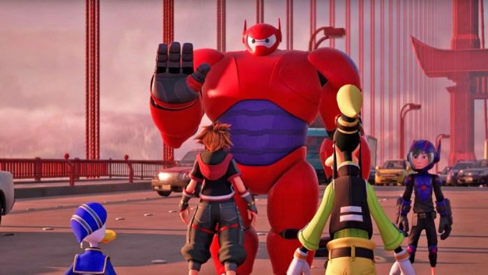 Kingdom Hearts III: novo trailer revela mundo inspirado em Operação Big Hero