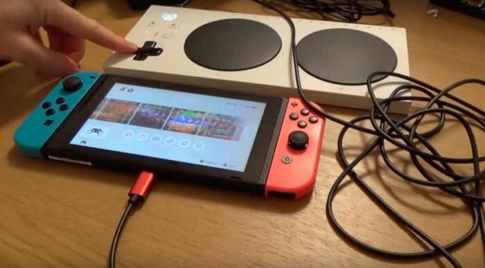 Conseguiram fazer funcionar o Adaptive Controller para o Nintendo Switch