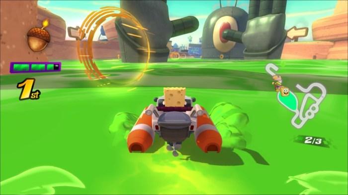 Análise Arkade: Nickelodeon Kart Racers traz personagens