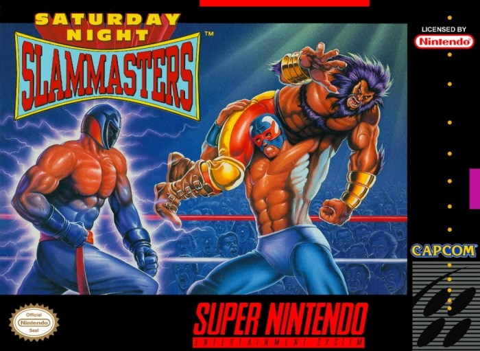 Saturday Night Slam Masters, a luta livre da Capcom Optimized-slammaster
