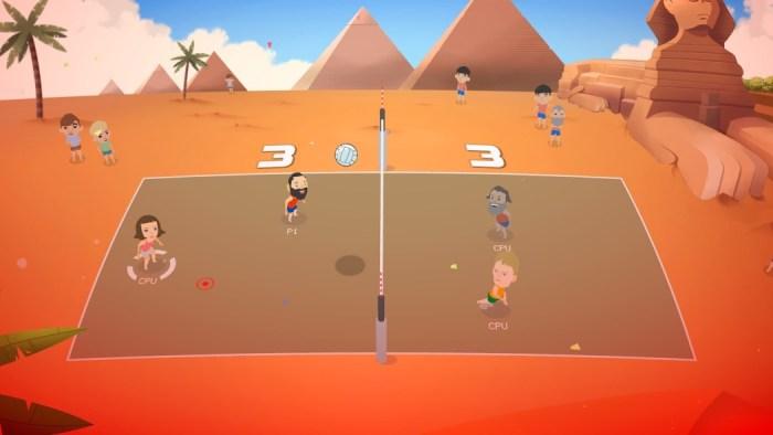 Análise Arkade: Super Volley Blast é vôlei e diversão para reunir os amigos