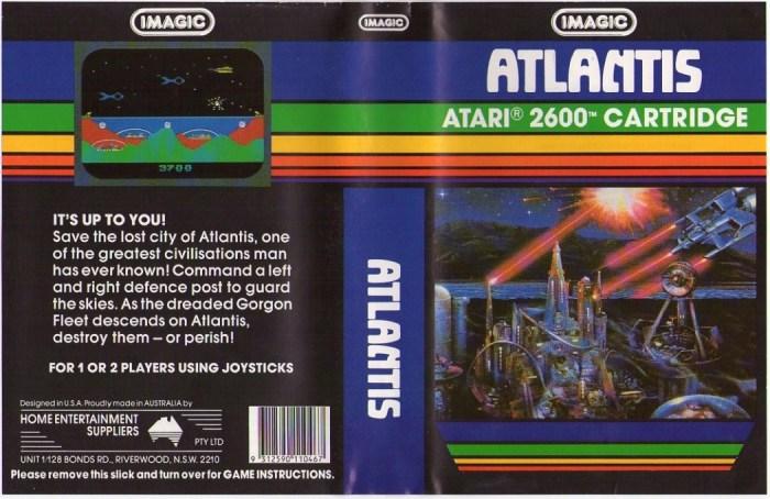 Atlantis e Cosmic Ark, a primeira sequência dos videogames Atlantis_hes_cart_2