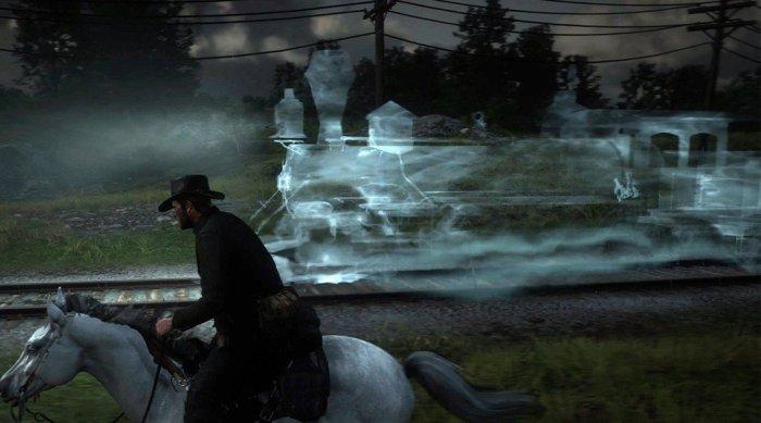 """Red Dead Redemption 2: fantasmas e aparições do game """"assombram"""" o mundo real e empolgam os jogadores"""