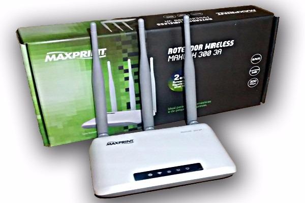 Testamos - Roteador MaxLink 300 3A, uma interessante opção acessível