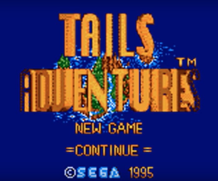 RetroArkade: Tails Adventure, a aventura exclusiva do amigo de Sonic no Game Gear