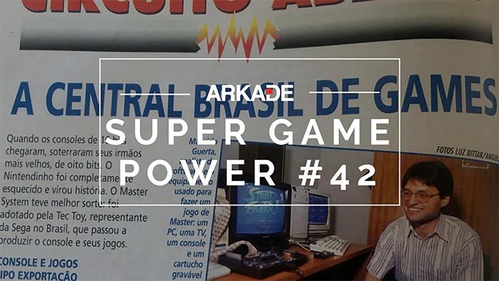 Jogos feitos no Brasil foram destaque da Super Game Power de setembro de 1997