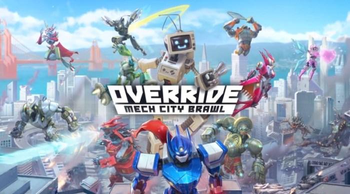 Análise Arkade - As batalhas com robôs gigantes de Override: Mech City Brawl