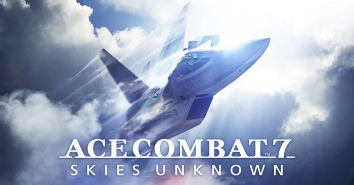 Análise Arkade - Ace Combat 7: Skies Unknown traz de volta seus famosos combates aéreos