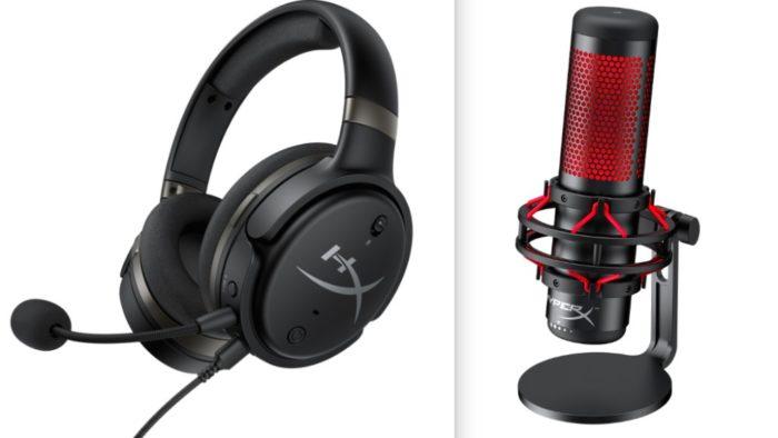 HyperX apresenta novos headsets, mouse, memória e microfone na CES 2019