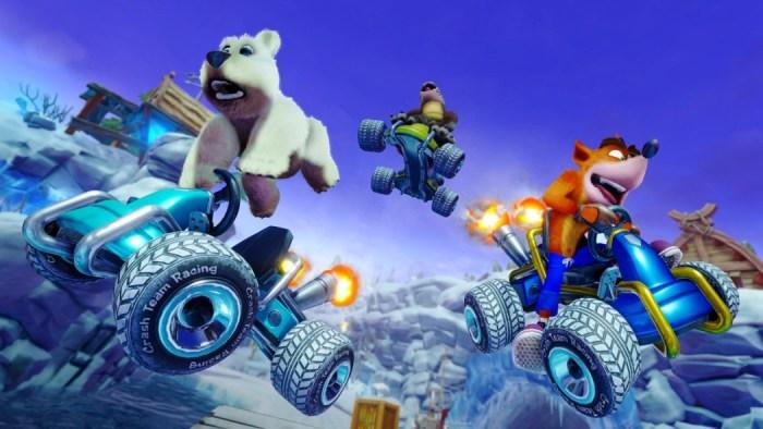 Remake de Crash Team Racing ganha novos vídeos de gameplay!