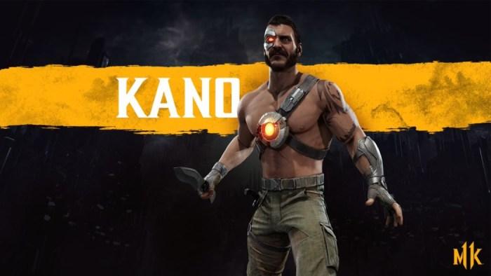 Mortal Kombat 11: Kano é confirmado no game, com direito a skin de Cangaceiro