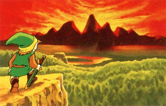 Infográfico - A linha do tempo da série The Legend of Zelda