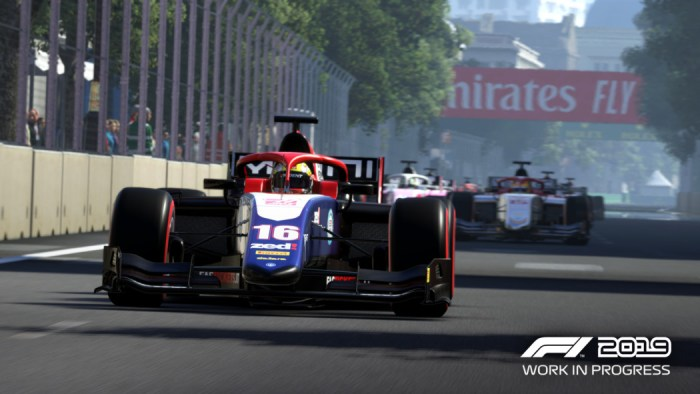 F1 2019 confirma F2, e apresenta conteúdo baseado na rivalidade Senna x Prost