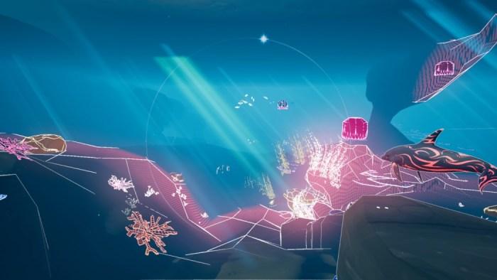 Análise Arkade: salvando a vida marinha com golfinhos de neon em Jupiter & Mars