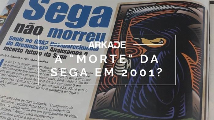 #TBTArkade: O futuro incerto da SEGA na Ação Games de maio de 2001