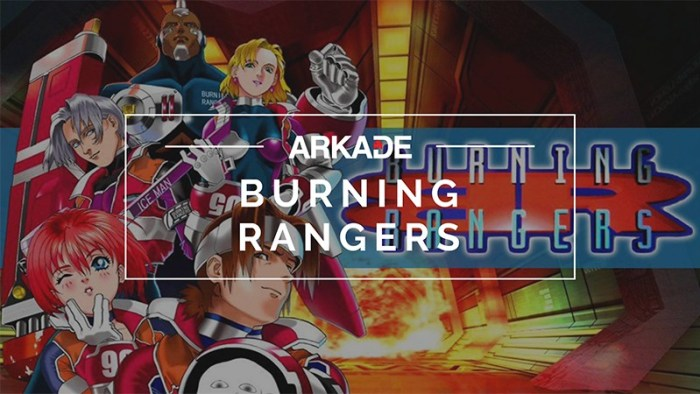 RetroArkade - Burning Rangers e sua aventura com bombeiros futuristas do Saturn