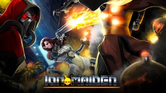Tribuna Arkade: A banda Iron Maiden está processando o game Ion Maiden