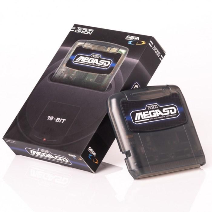 Cartucho promete rodar games do Sega CD direto no Mega Drive