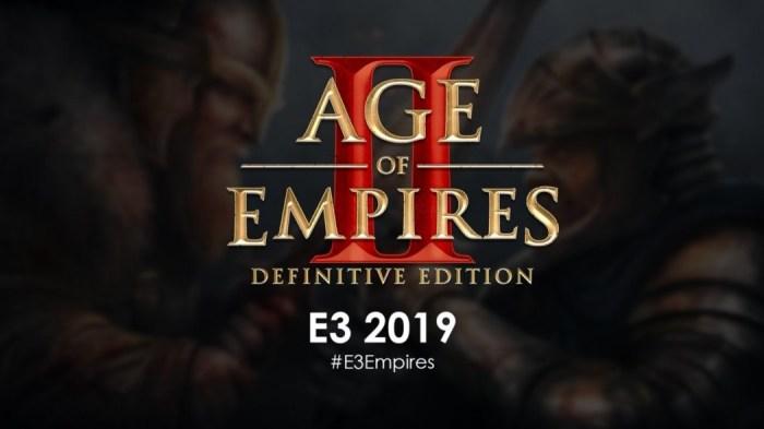 E3 2019: Age of Empires II Definitive Edition ganha novo trailer