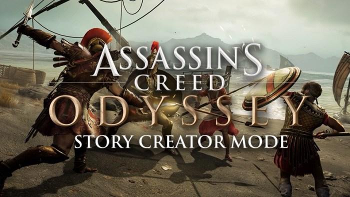 Conheça melhor o novo modo de Assassin's Creed Odyssey, que permitirá criar suas próprias missões