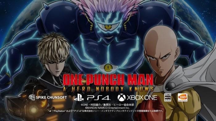 Bandai Namco anuncia One Punch Man: A Hero Nobody Knows