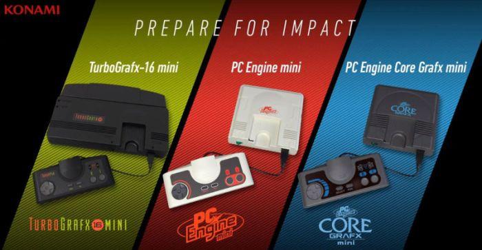 """E3 2019 - Konami vai relançar o TurboGrafx-16, em versão """"mini"""""""