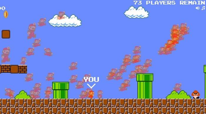 Alguém transformou Super Mario Bros em Battle Royale e você pode jogar agora!