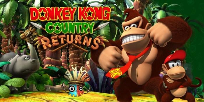 Donkey Kong Country Returns ganhou uma versão HD... para o NVIDIA Shield!