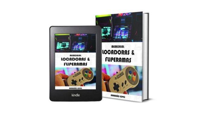 Livro resgata histórias das locadoras de games e fliperamas dos anos 90 e 2000.