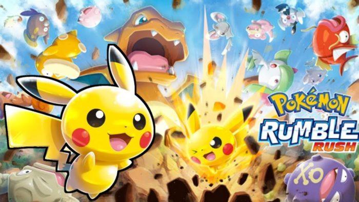 Ambrella finalmente libera Pokémon Rumble Rush para iOS