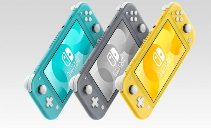 O Nintendo Switch Lite promete uma bateria melhor do que o console original