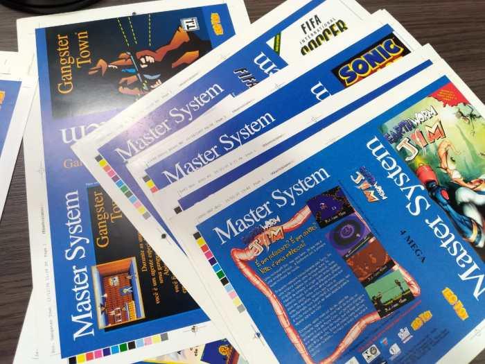 Livro definitivo sobre o Master System busca 200% de meta, para adicionar melhorias
