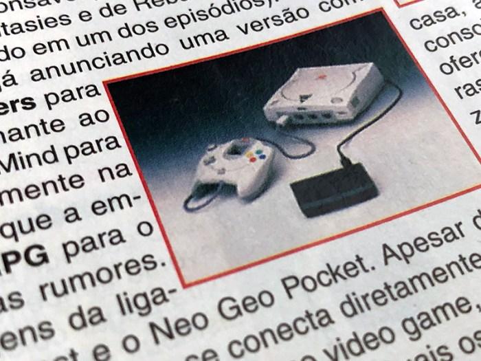 #TBTArkade - A expectativa com o Dreamcast na Gamers #35 de 1998
