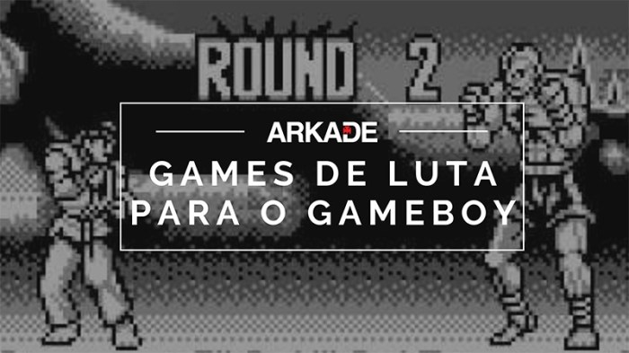 RetroArkade - Games de luta para o Game Boy