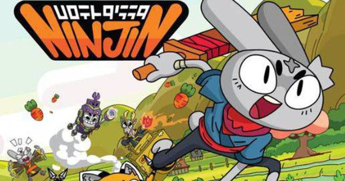 Ninjin: jogo brasileiro vai virar série animada no Cartoon Network