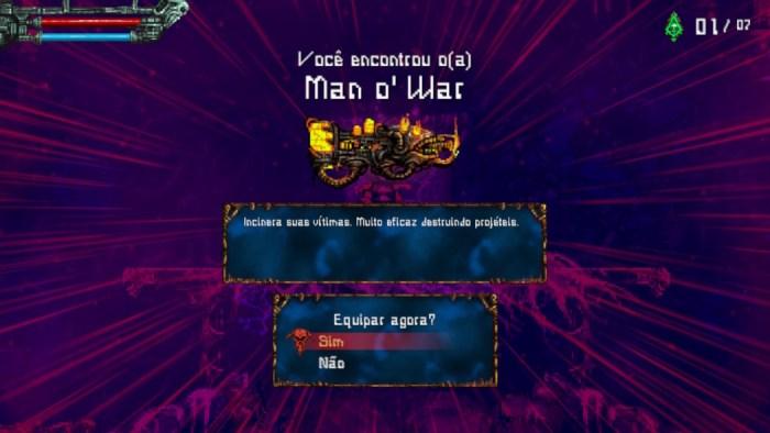 Análise Arkade: Valfaris traz desafio hardcore e temática sci fi ao som de heavy metal