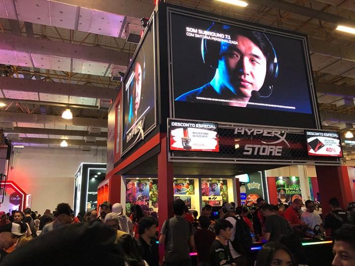 BGS 2019 - A HyperX está de olho na próxima geração de consoles